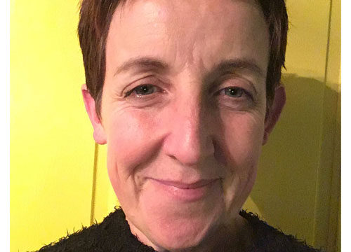 Delighted to have Julie Hesmondhalgh's support once again!